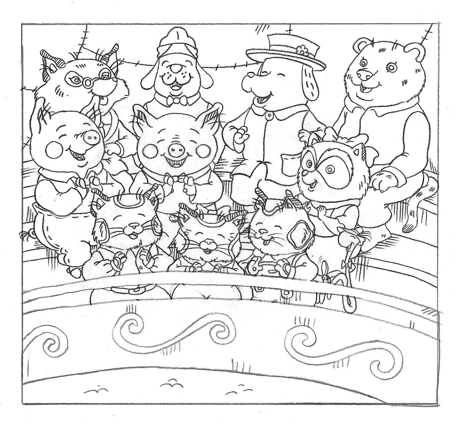 busytown coloring pages - photo#5